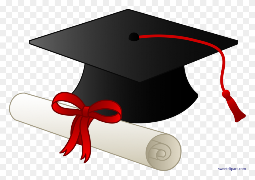 Graduation Cap And Diploma Clip Art Planet Clipart - Planet Clipart