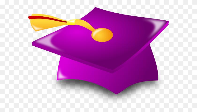 Graduation Cap Clip Art Free - Red Graduation Cap Clipart