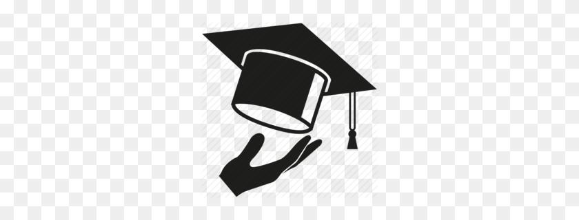 Graduation Cap Clipart - White Graduation Cap Clipart