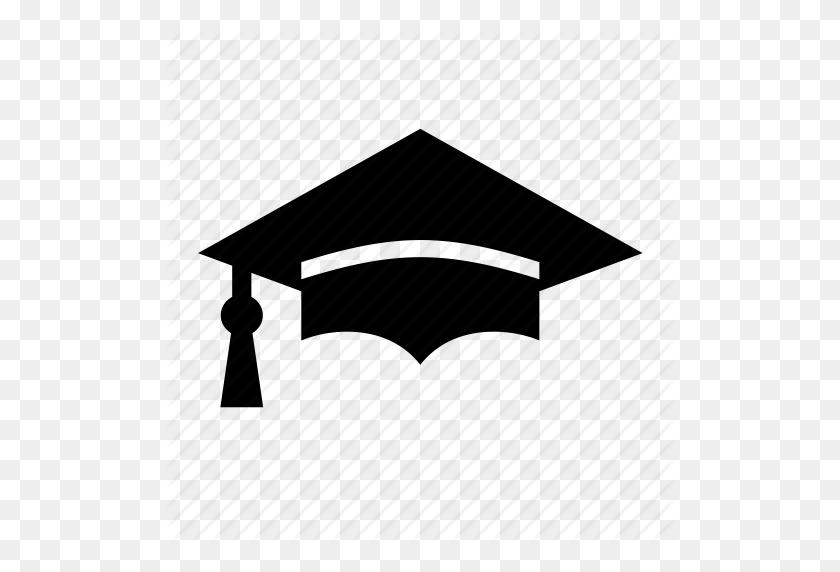 Graduation Cap Png Black And White Transparent Graduation Cap - Graduation Hat PNG