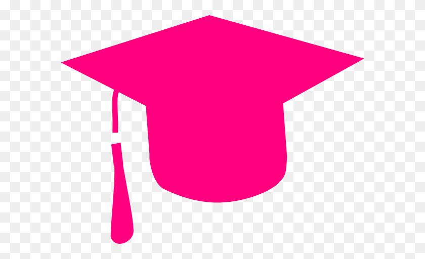 Graduation Clip Art Black - Red Graduation Cap Clipart
