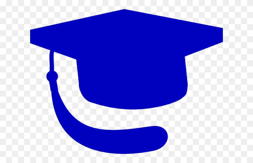 Graduation Clipart - Blue Graduation Cap Clipart