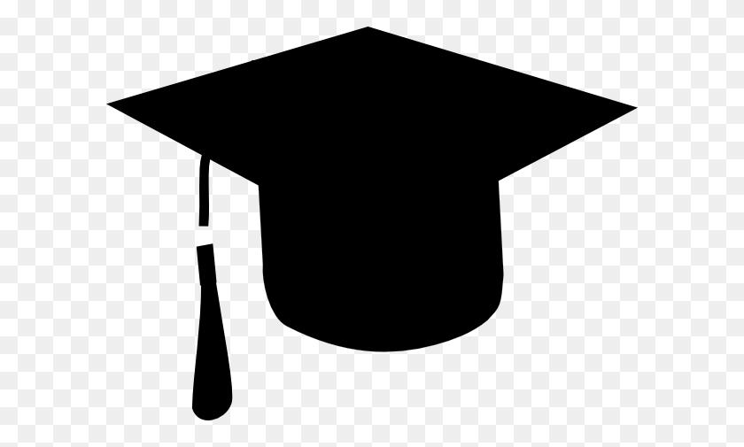 Graduation Hat Flying Graduation Caps Clip Art Cap Line - Cap And Gown Clipart