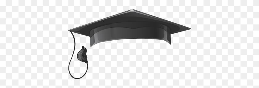 Graduation Hat Flying Graduation Caps Clip Art Cap Line - Cat In The Hat Clipart Black And White