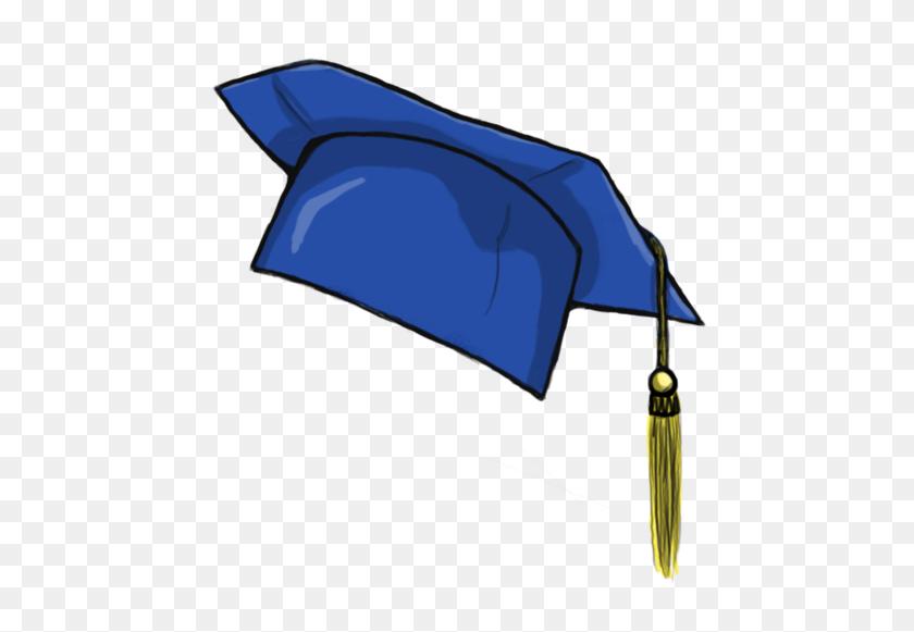 Graduation Hat Flying Graduation Caps Clip Art Cap Line - Mortar Board Clipart