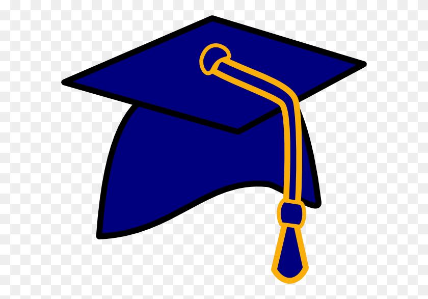Graduation Hat Free Clip Art Of A Graduation Cap Clipart Image - Free Clipart Graduation Cap And Diploma