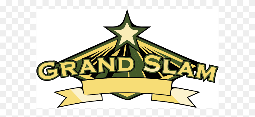 Grand Slam Trans Clip Art - Slam Clipart