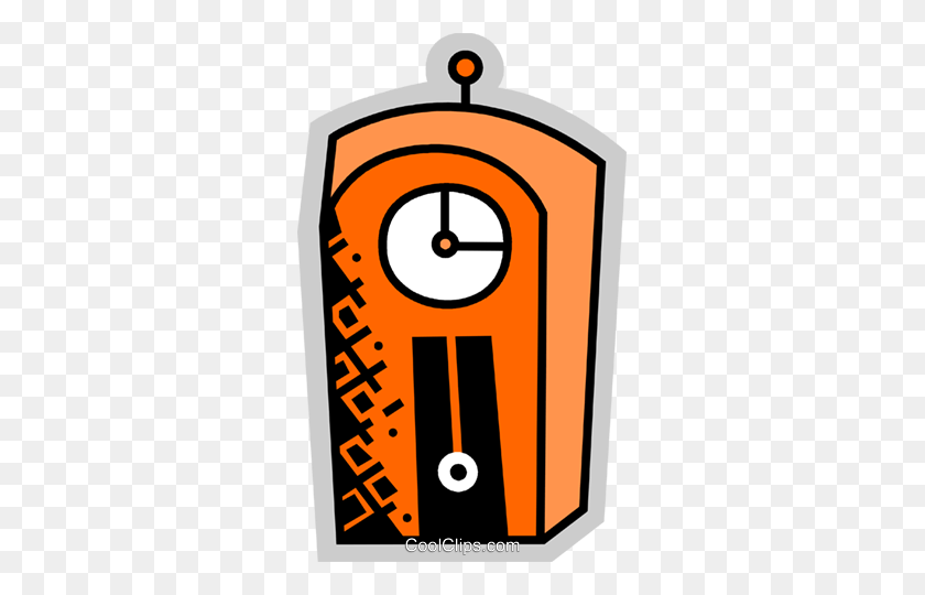 Grandfather Clock Clipart Free Clipart - School Clock Clipart