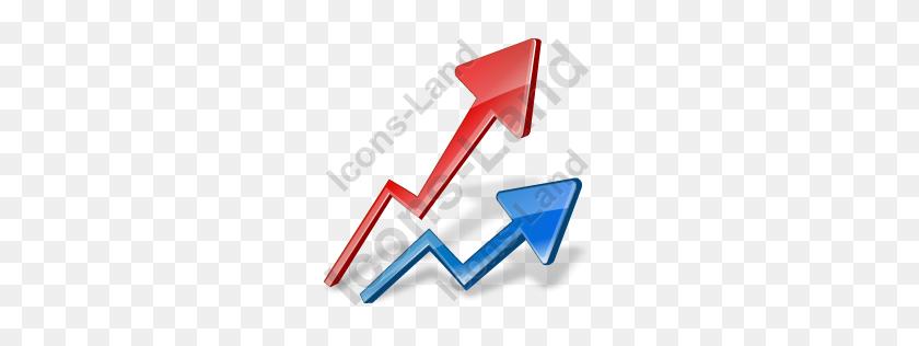Graph Line Icon, Pngico Icons - Line Graph PNG