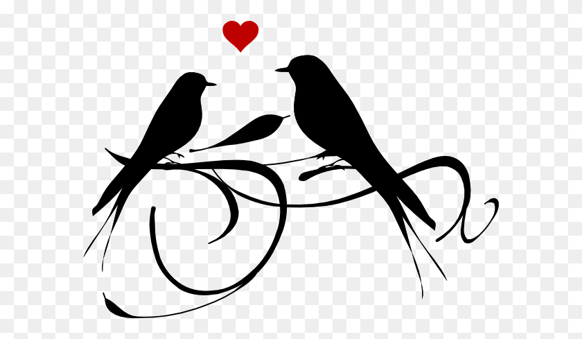 Graphic Of Love Clipart Black White - Feather Clip Art Black And White