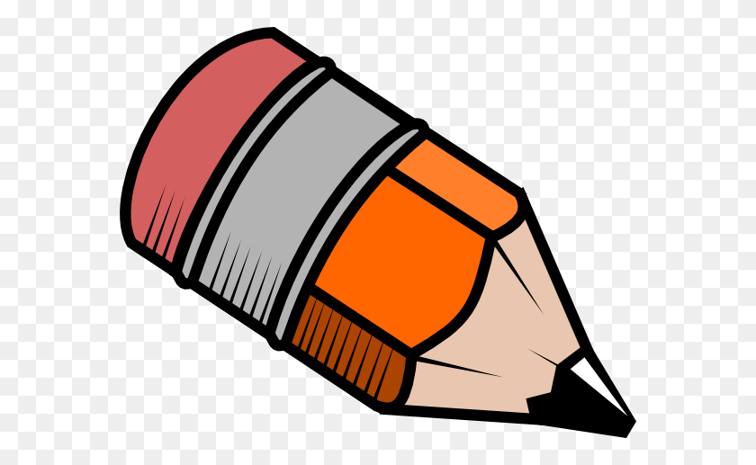 Gray Crayon Free Clipart - Orange Crayon Clipart