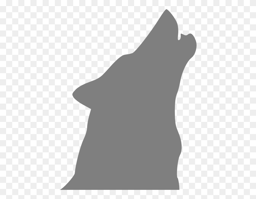 Gray Howling Wolf Png Clip Arts For Web - Wolf PNG