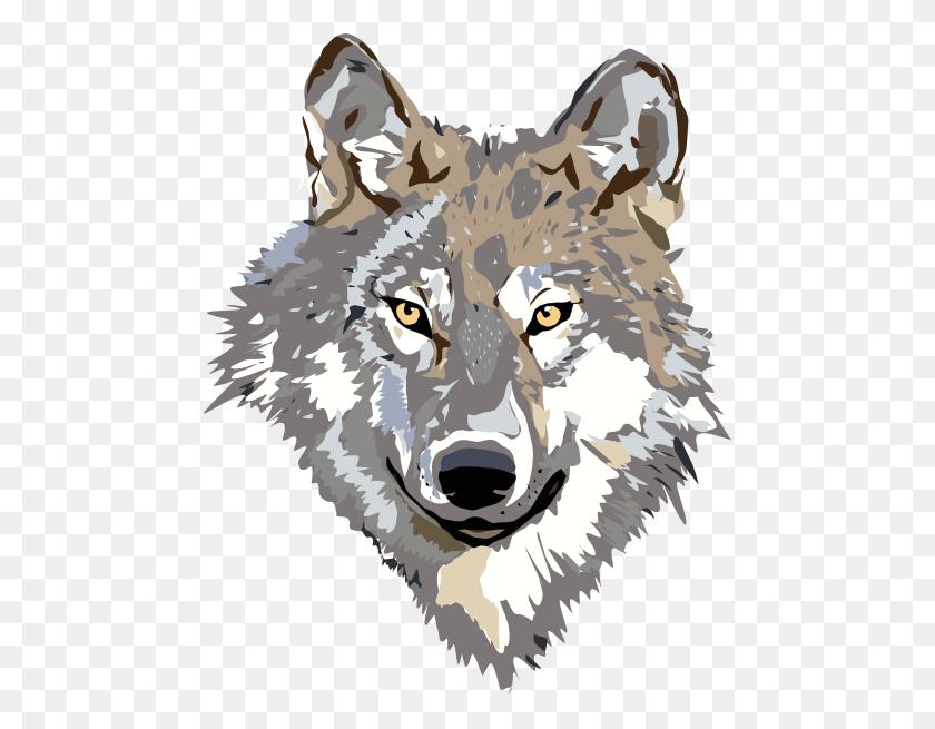 Gray Wolf Clip Art - Gray Wolf Clipart