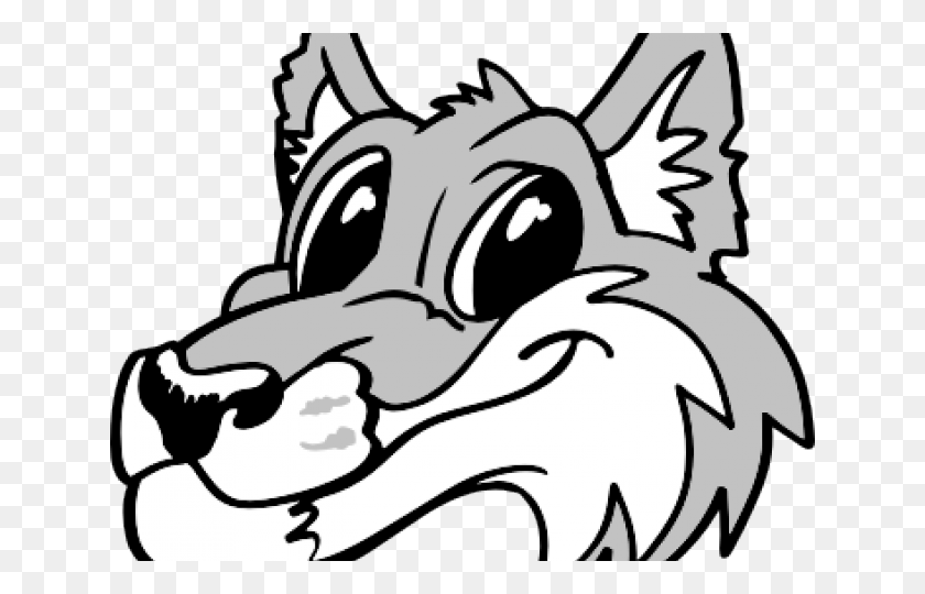 Gray Wolf Clipart Nice Wolf - Gray Wolf Clipart