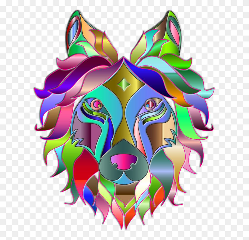 Gray Wolf Computer Icons Visual Arts Line Art - Gray Wolf Clipart