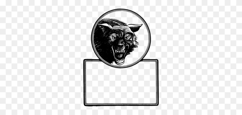 Gray Wolf Tattoo Art Black Wolf Drawing - Wolf Head Clipart