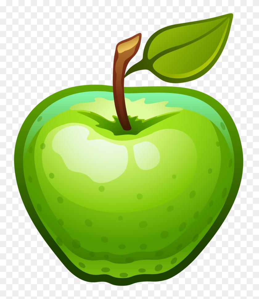Green Apple Clipart October Apples Clip Art Small - October Clipart