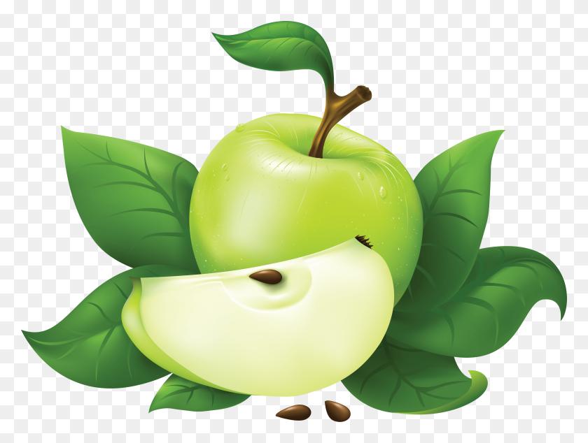 Green Apple Png Image - Bitten Apple PNG