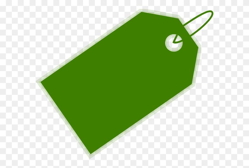 600x507 Green Blank Tag Png - Tag PNG