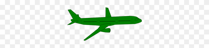 Green Clipart Aeroplane - Paper Airplane Clipart