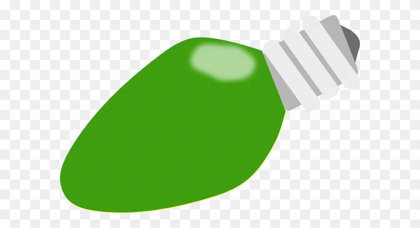 Green Clipart Lightbulb - Lightbulb Clipart