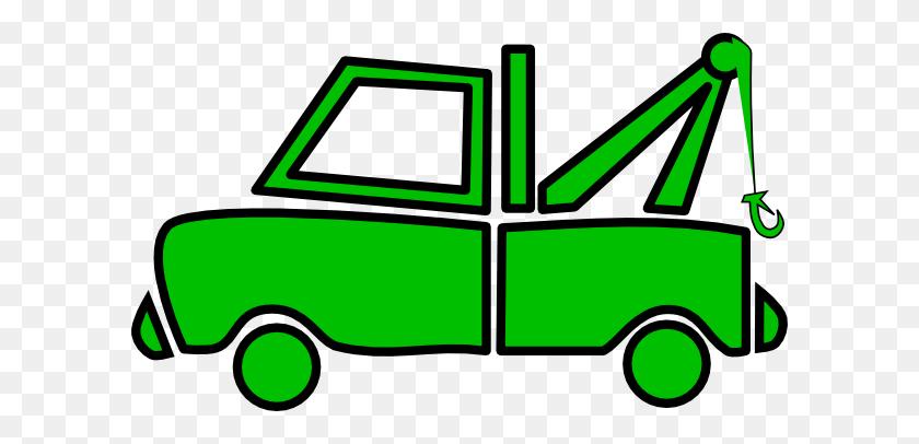 Green Clipart Semi Truck - Semi Truck Clipart
