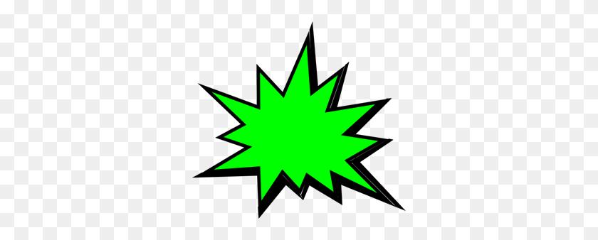 Green Comic Pow Png Clip Arts For Web - Pow PNG