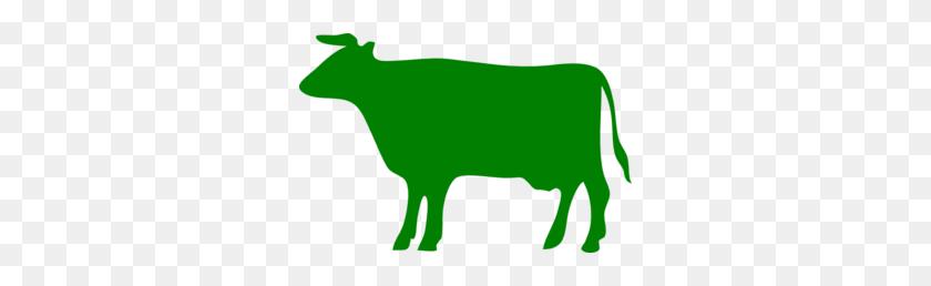 Green Cow Clip Art - Cow Print Clipart