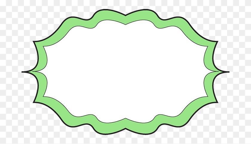 Green Fancy Borders Clipart - Fancy Borders PNG
