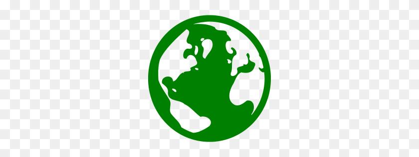 Green Globe Icon - Globe Icon PNG