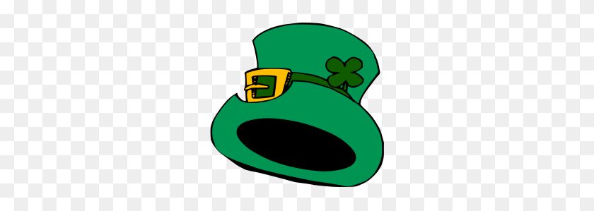 Green Hat - Top Hat Clipart