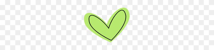 181x139 Green Heart Clipart - Believe Clipart