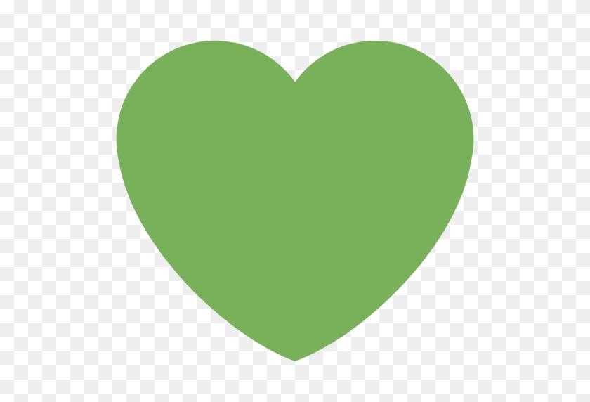 Green Heart Emoji - Green Heart PNG