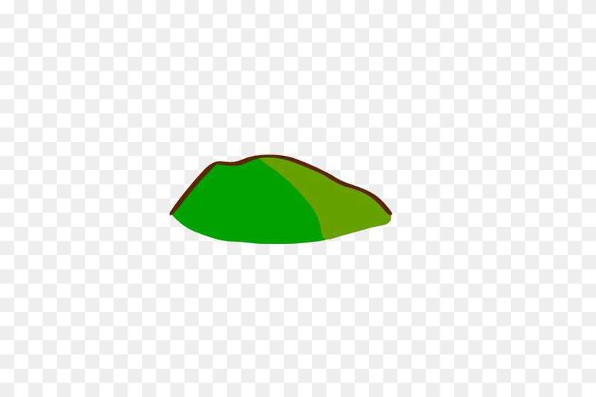 Green Hill Map Element Vector Clip Art - Ant Hill Clipart
