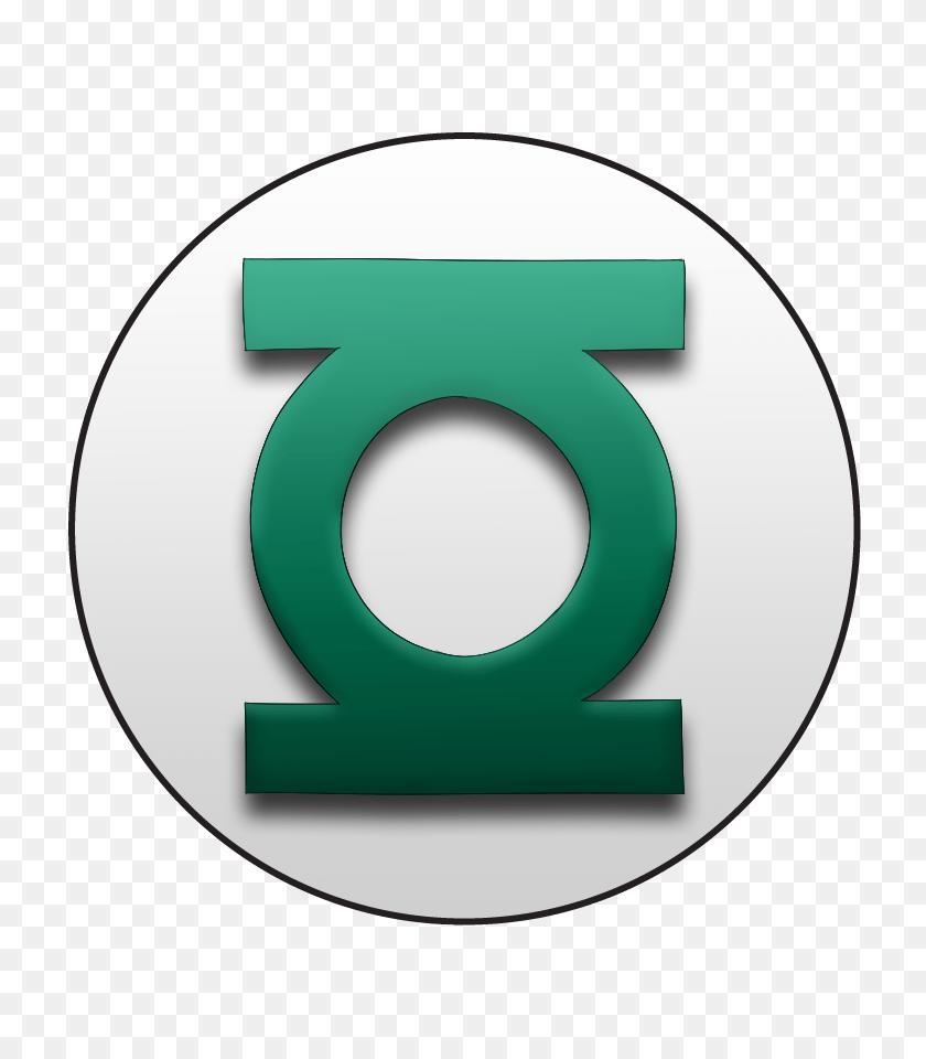 Green Lantern From Green Lantern On A Or Pin Back Button - Green Lantern Logo PNG