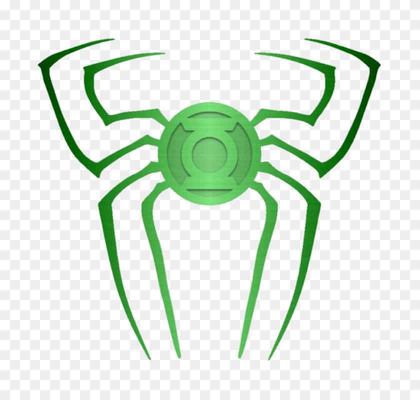 Green Lantern Logo Png, Green Lantern Silhouettes Silhouettes - Spiderman Logo PNG