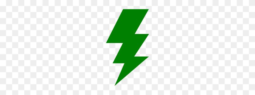 Green Lightning Bolt Png Transparent Images - Lightning Bolt Clipart PNG