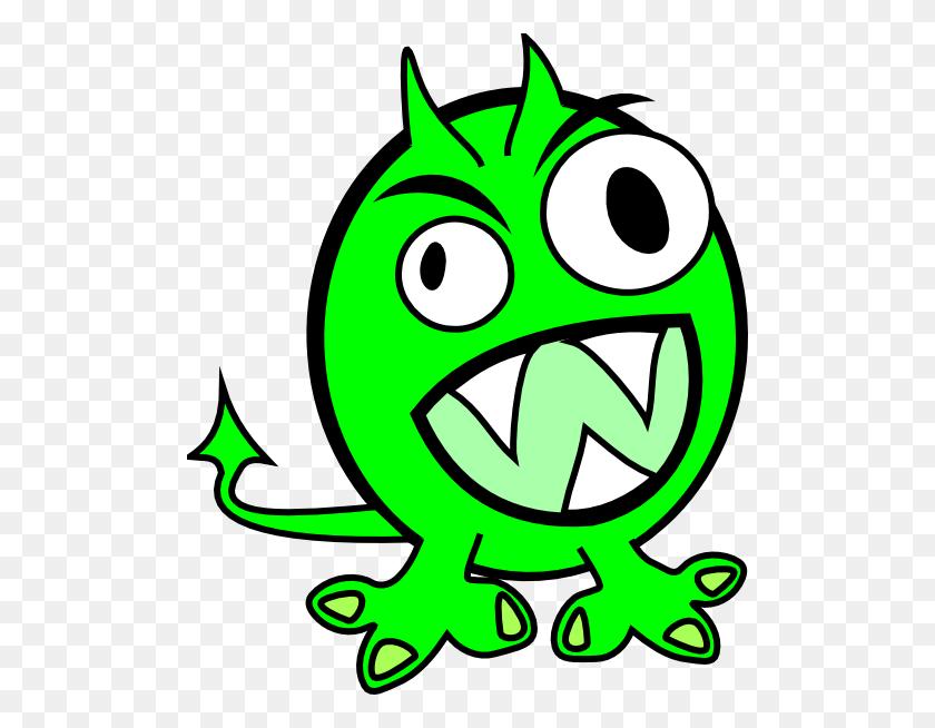 504x594 Green Monster Clip Art - Monster Mouths Clipart