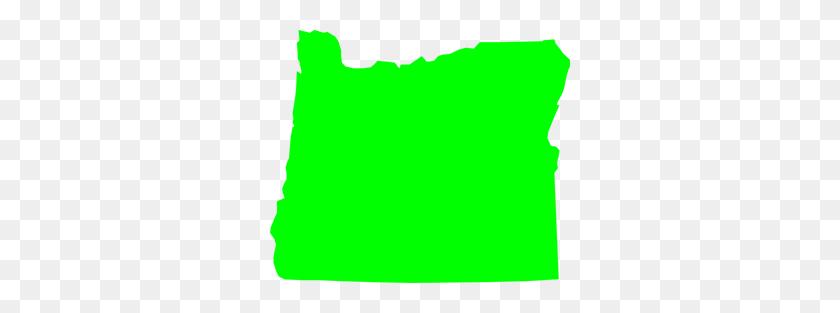 Green Oregon Clipart Png For Web - Oregon Clip Art