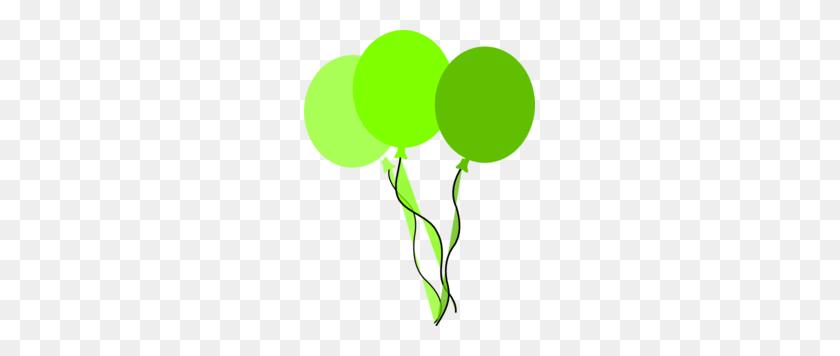 Green Party Balloons Clip Art - Party Balloons Clipart
