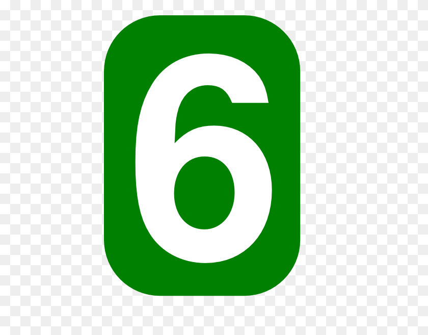 Green Rounded Rectangle With Number Clip Art - Number 13 Clipart