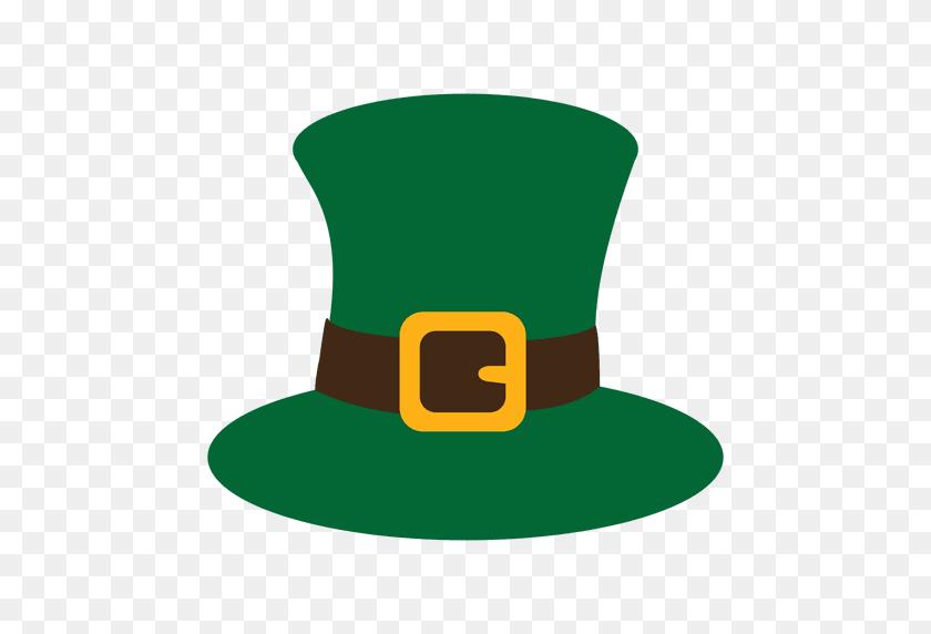 Green St Patrick Hat - Patrick PNG