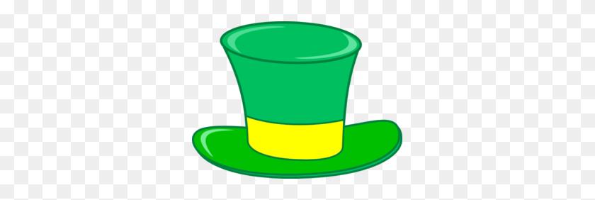 Green Top Hat Clip Art - Top Hat Clipart