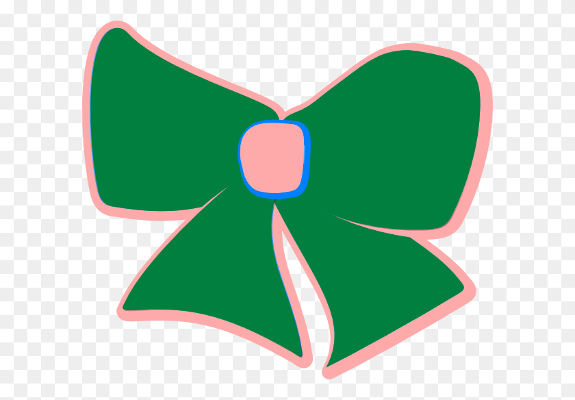 Greenpink Bow Clip Art - Ar 15 Clip Art