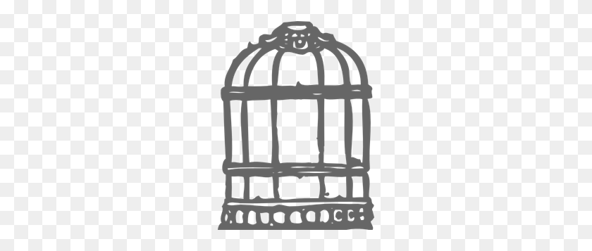 Grey Silver Birdcage Png Clip Arts For Web - Bird Cage PNG