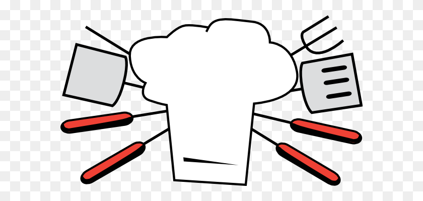 Grilling Clipart Group With Items - No Fighting Clipart
