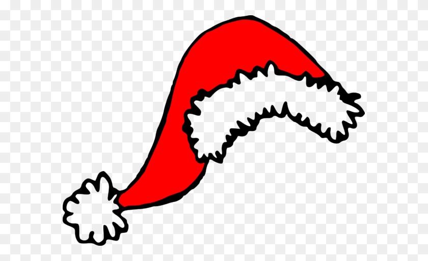 Grinch Clipart Hat Santa Hats Christmas Hugereebie Downloador - Grinch Clip Art