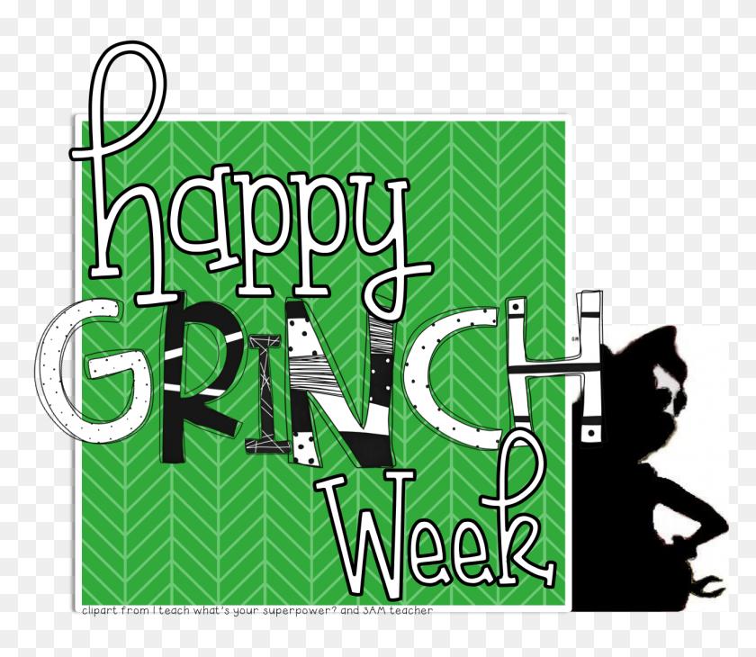 Grinch Week Freebies - Free Grinch Clip Art