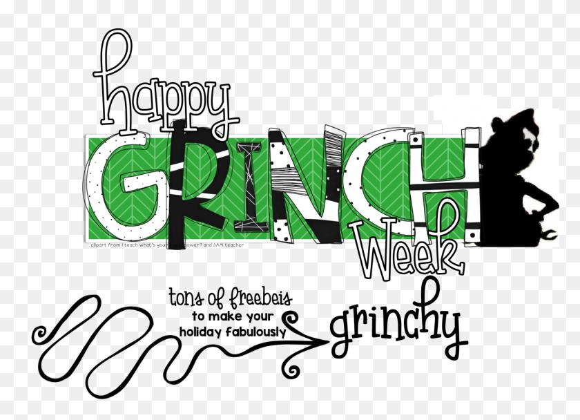 Grinch Week Freebies - Grinch Clip Art