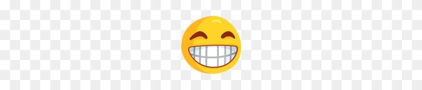 Grinning Face With Smiling Eyes Emoji - Smiling Emoji PNG
